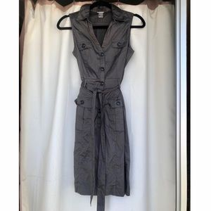 H&M trench style dress